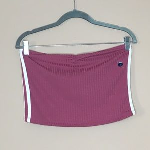 Abercrombie and fitch tube top.